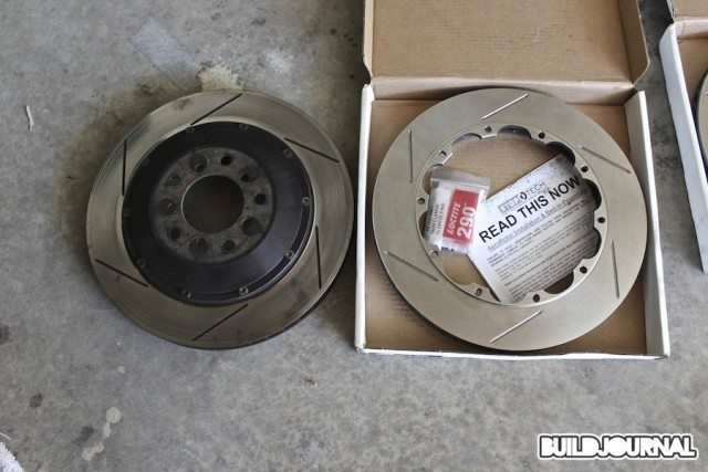 StopTech Street Performance brake pads and Aero Rotors Install - BuildJournal
