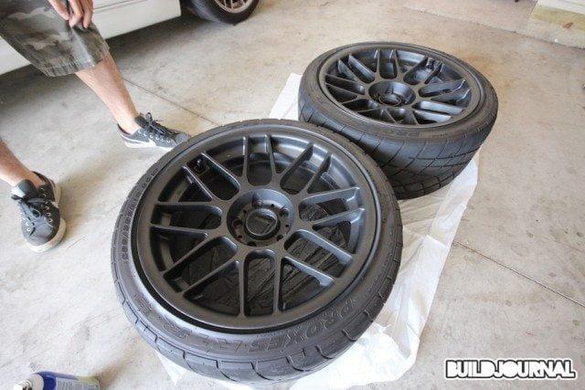 Plasti Dip Wheels DIY, Apex Arc-8 • Buildjournal