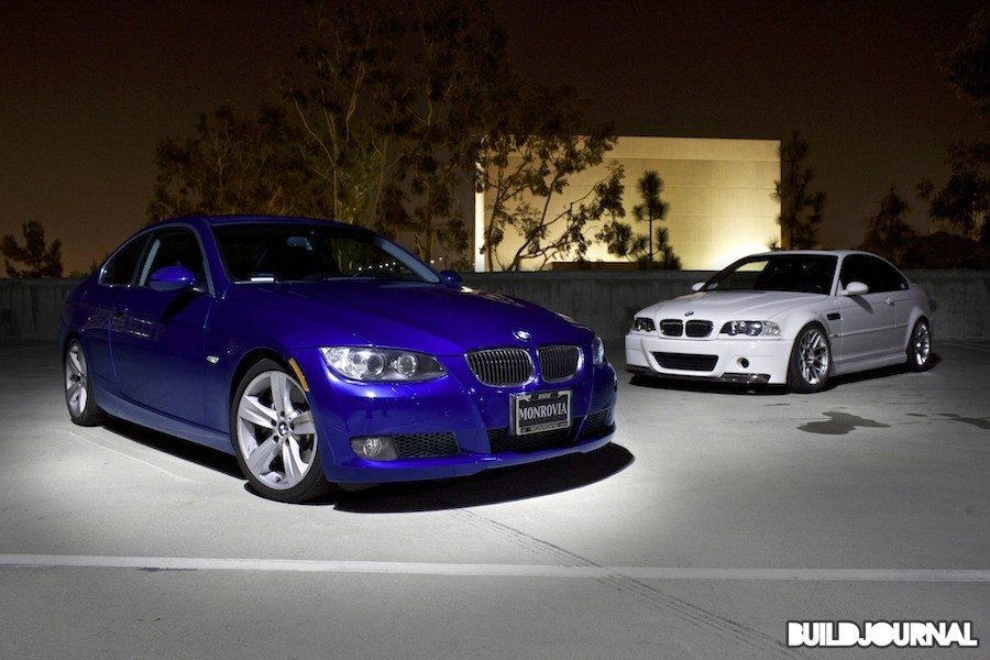 BMW 335i Photoshoot at UCI Parking Structure