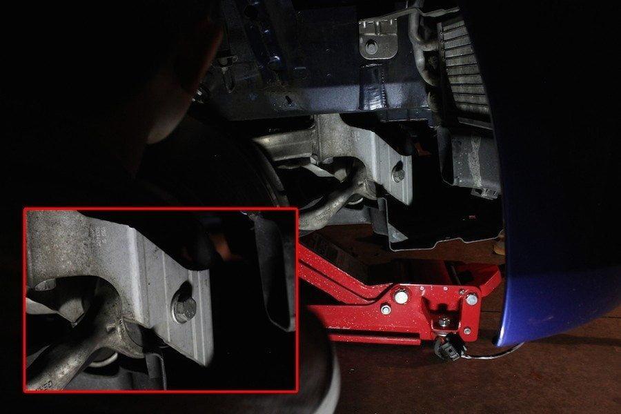 Lower Control Arm Bolt - BMW E92 335i Coilover Install DIY