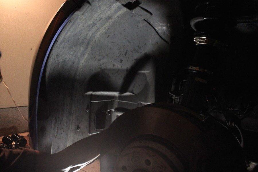 Front Fender Liner - BMW E92 335i Coilover Install DIY