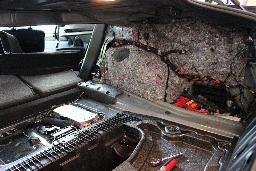 Trunk Liner - BMW E92 335i Coilover Install DIY
