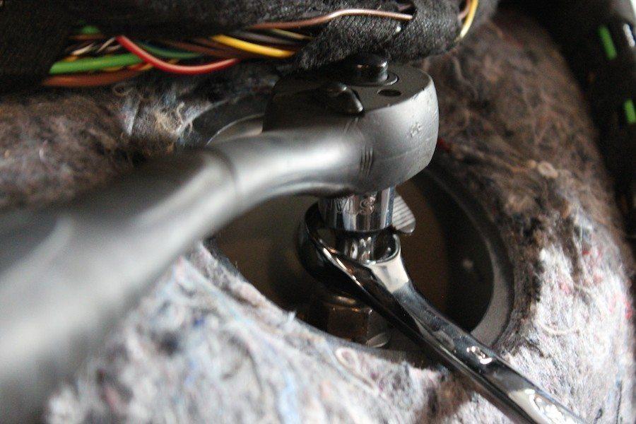 Rear Shock - BMW E92 335i Coilover Install DIY