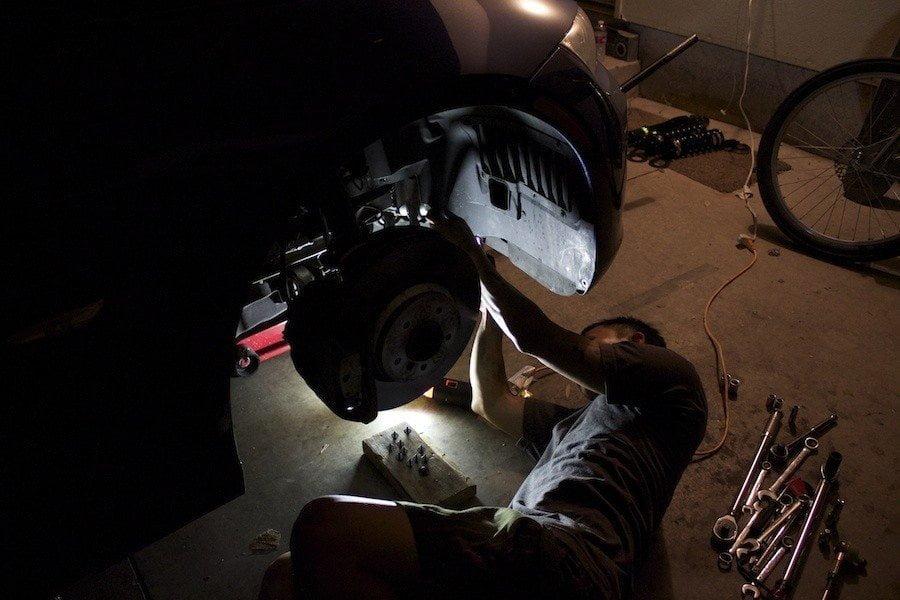 BMW E92 335i Coilover Install DIY