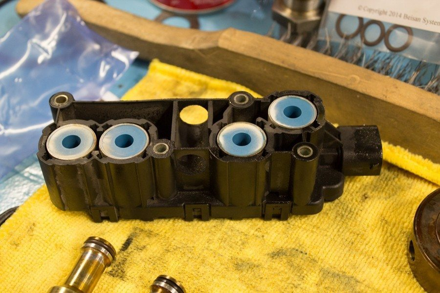 E46 M3 Solenoid Pack - Beisan Systems S54 VANOS Rebuild at Lang Racing Development
