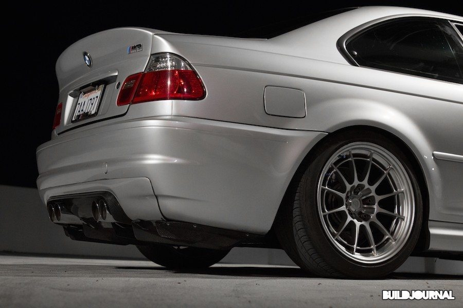 BMW E46 M3 Alpine White and TiAG
