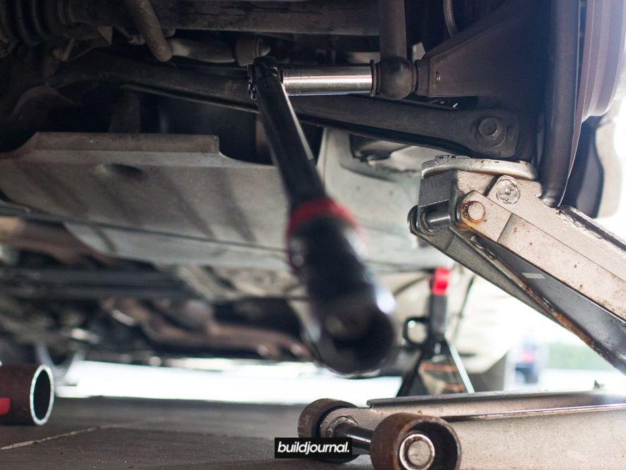 Rear Spring Perch Reinforcement - E46 M3