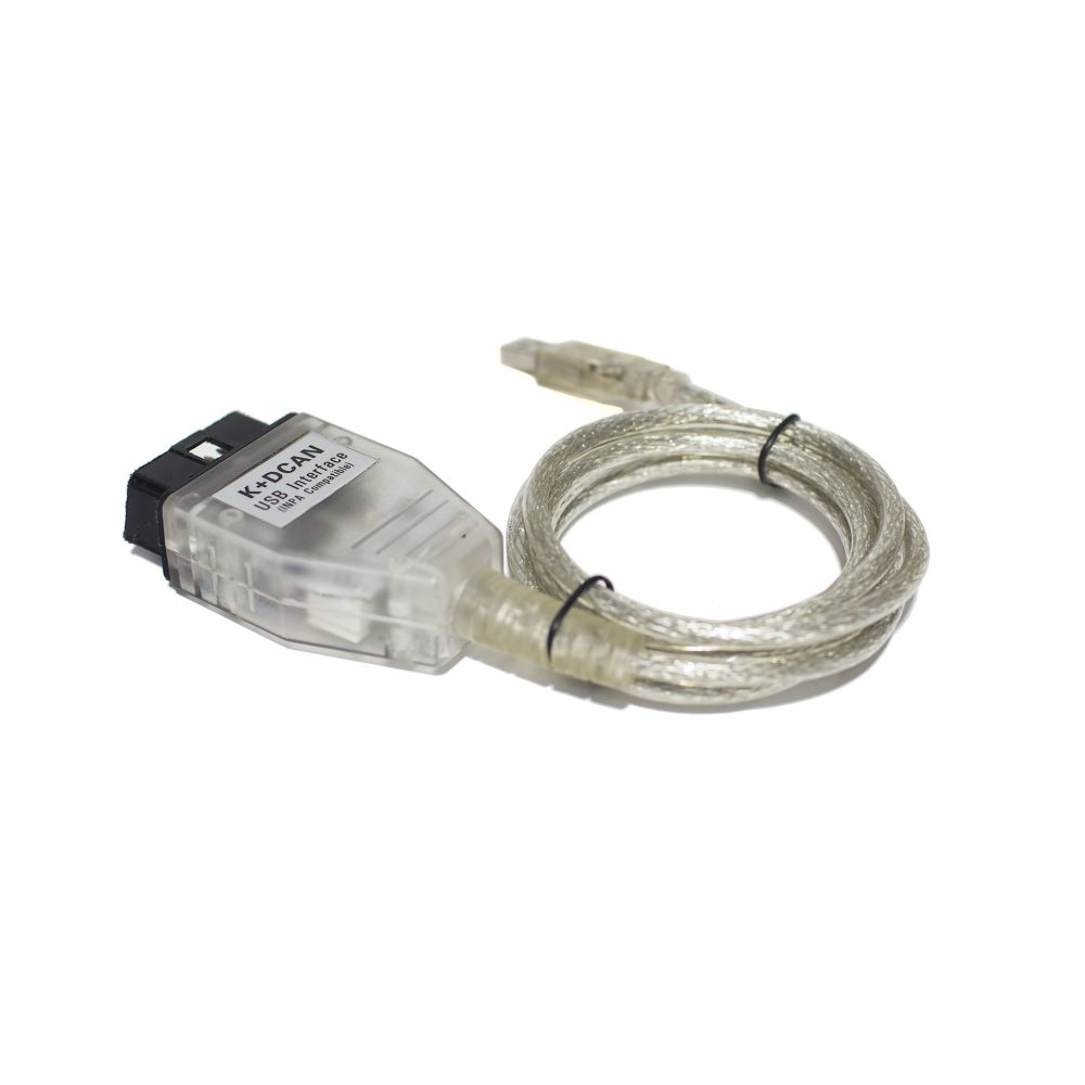 BMW K+DCAN OBD2 USB Cable FTDI