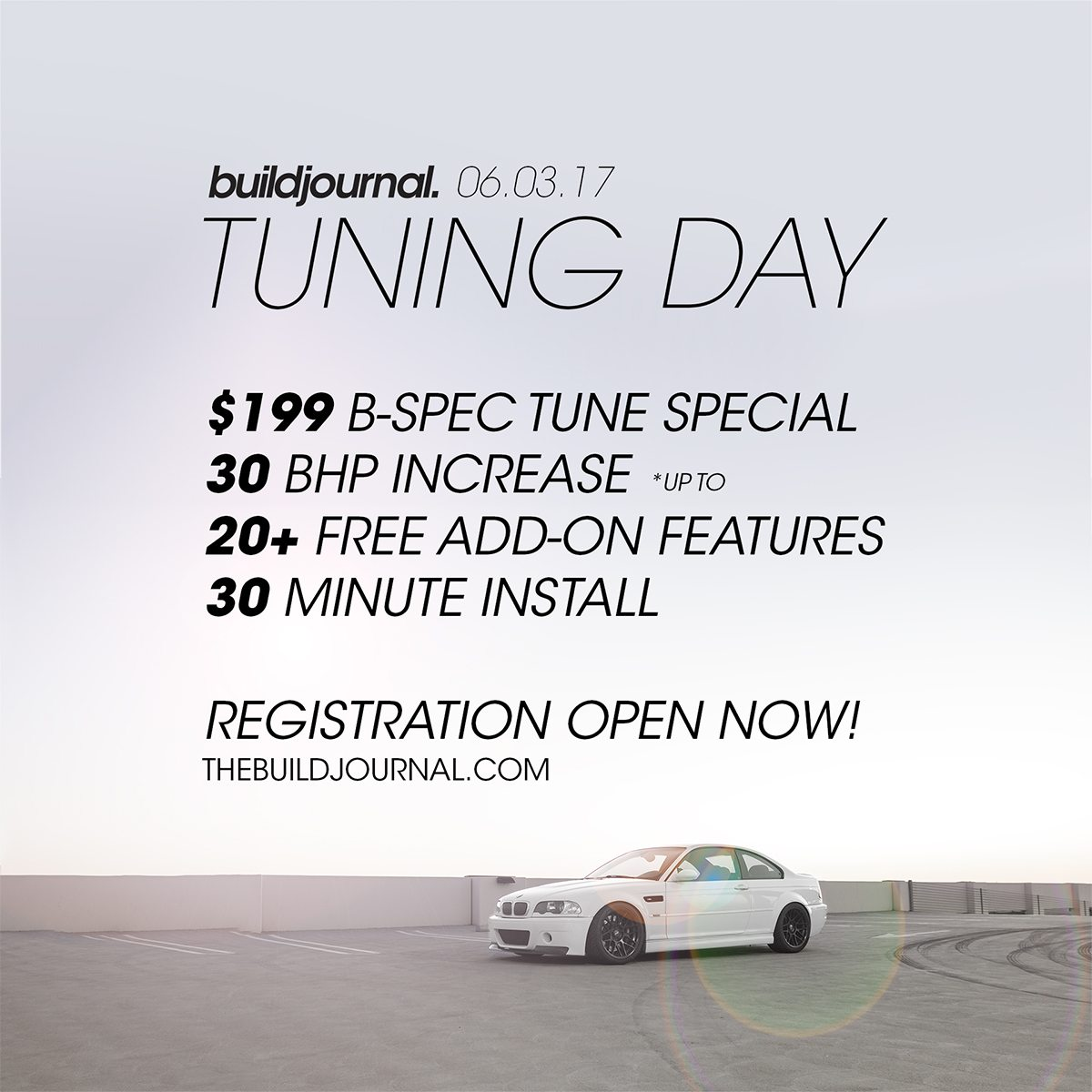 Buildjournal Tuning Day 2017