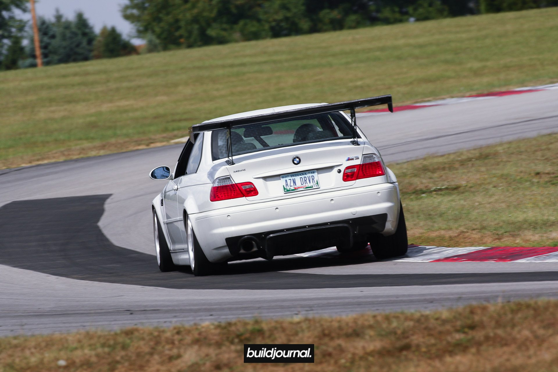 Track Toy: Huy's Tracked Out E46 M3 with B-Spec Tune