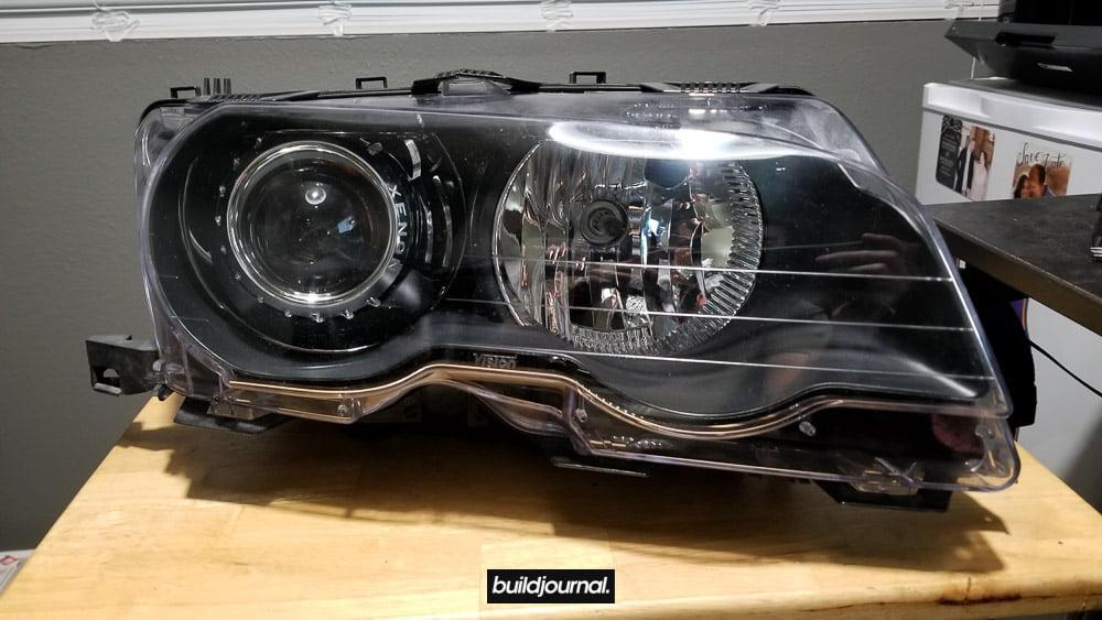 E46 M3 Bosch HID Projector Retrofit G5-R