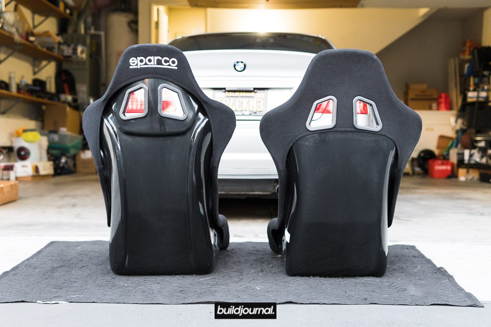 Sparco EVO vs Trophy-S Bucket Seat