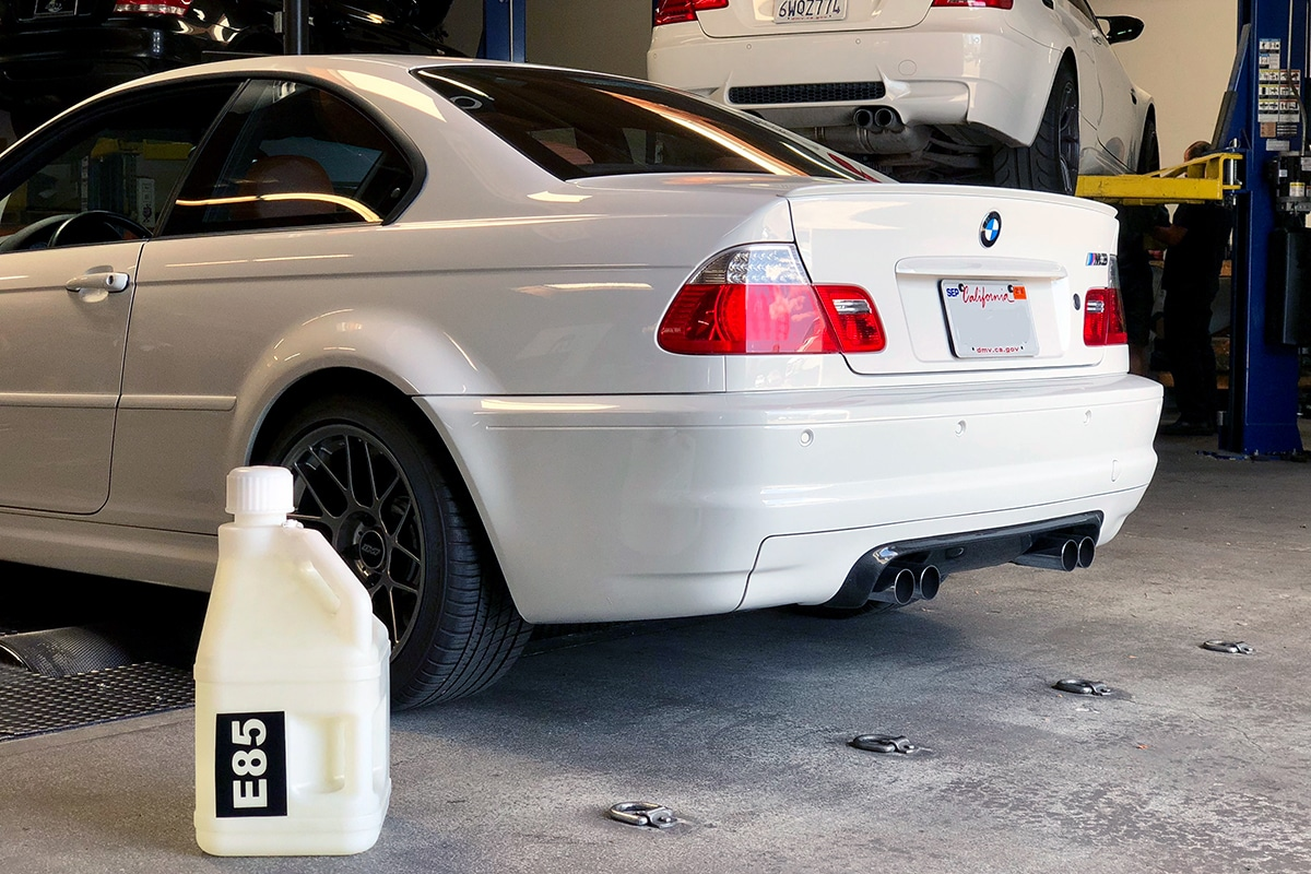 Ivan's E46 M3 B-Spec Tune x AFD E85 Flex Fuel Kit - Dyno Results