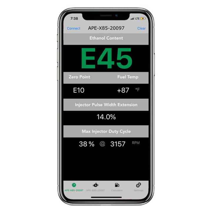APE X85 E85 Flex Fuel Kit