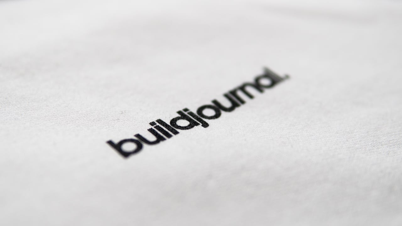 Buildjournal Signature Hoodie