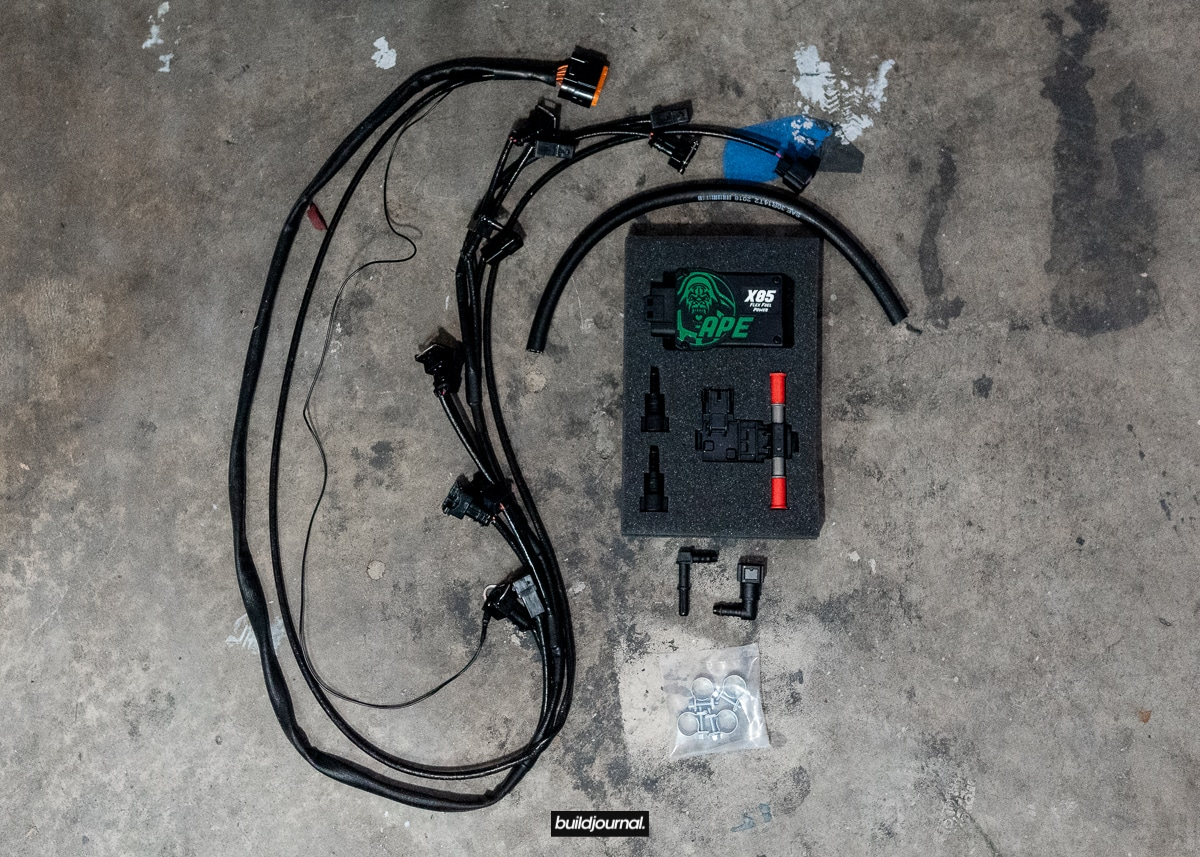 BMW E46 M3 APE E85 Flex Fuel Kit