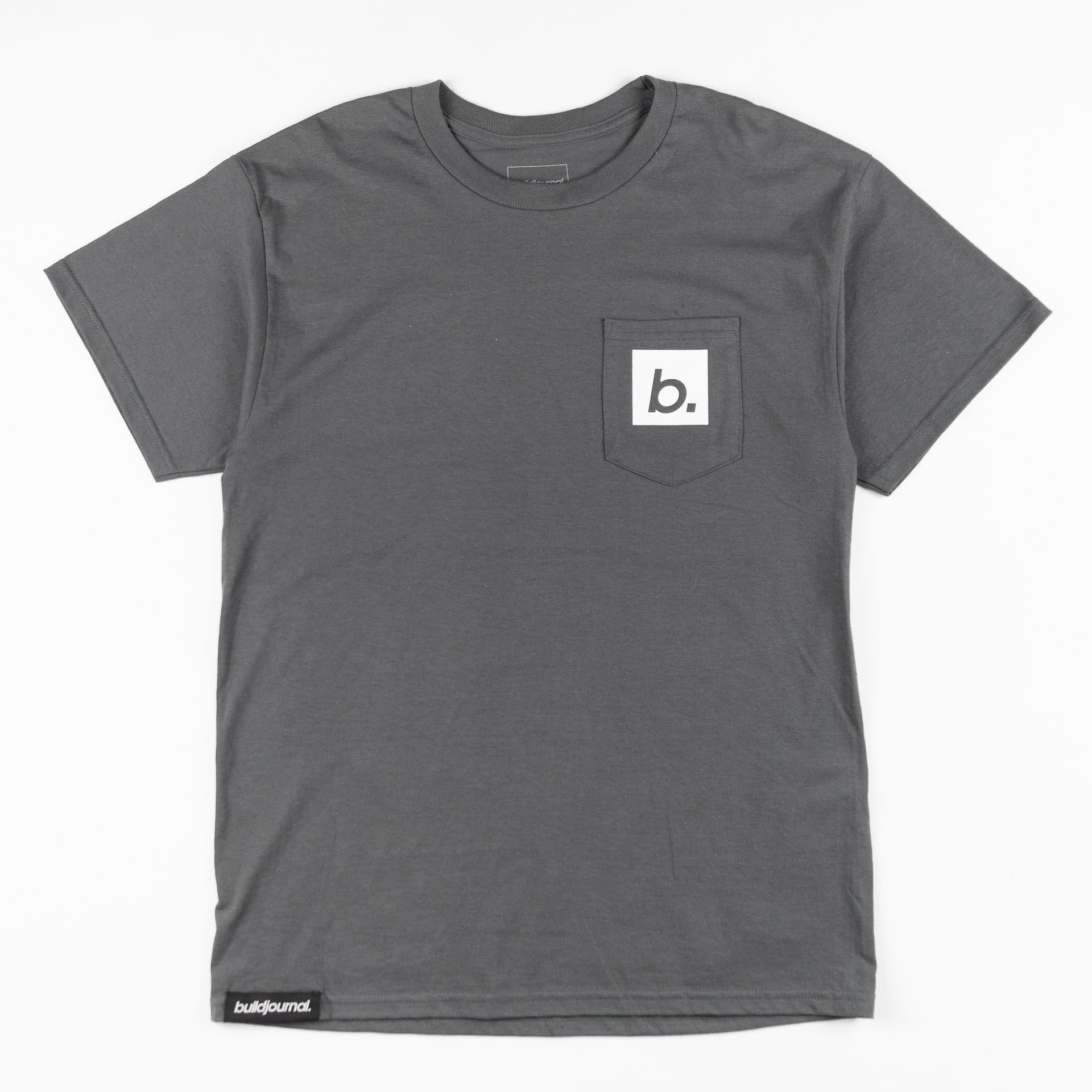 Buildjournal B Pocket T-Shirt