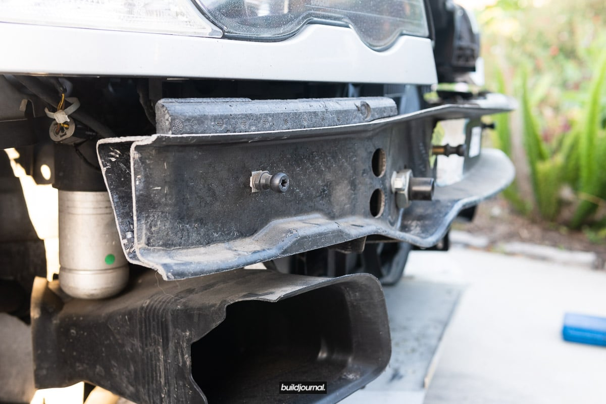 Pop Latch Quick Release for Front Bumper DIY