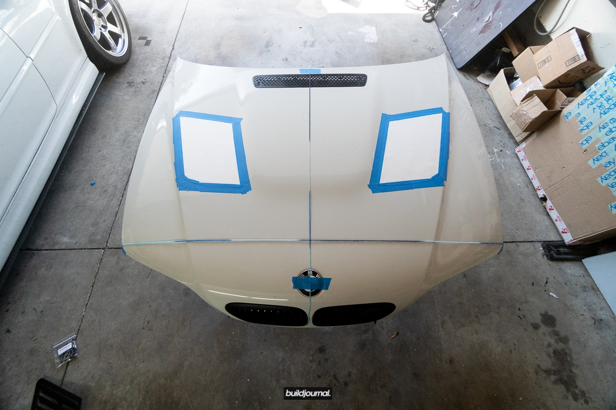 Trackspec BMW E46 M3 Hood Vent Kit