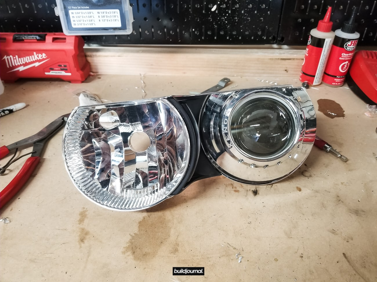 PSDesigns E46 M3 Headlight Duct Install DIY