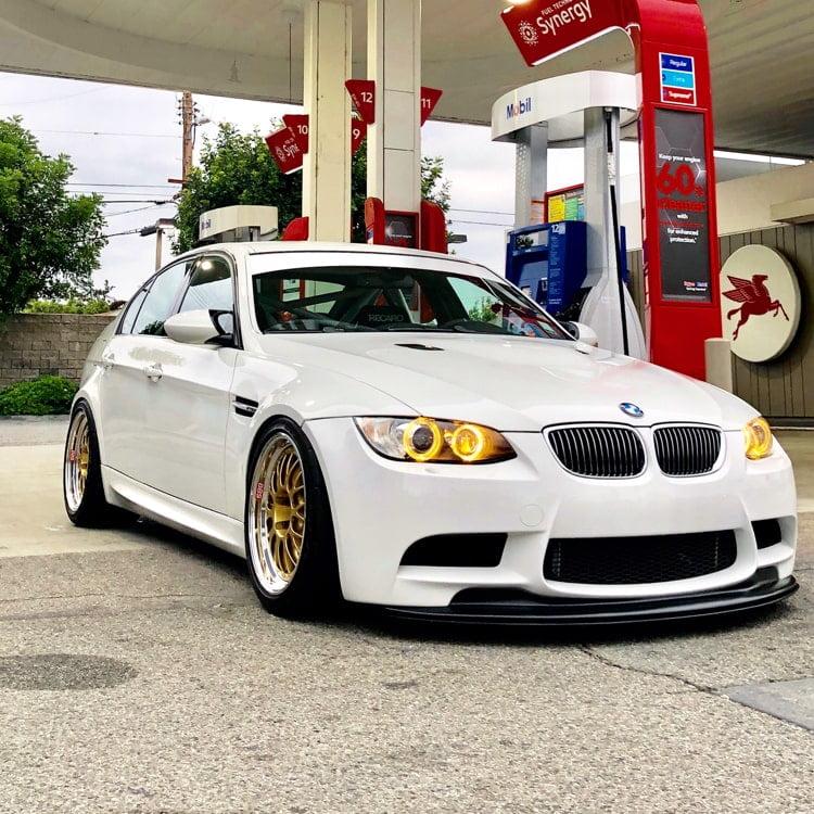 BMW E90 E92 E93 M3 GTS V2 Lip Carbon Fiber