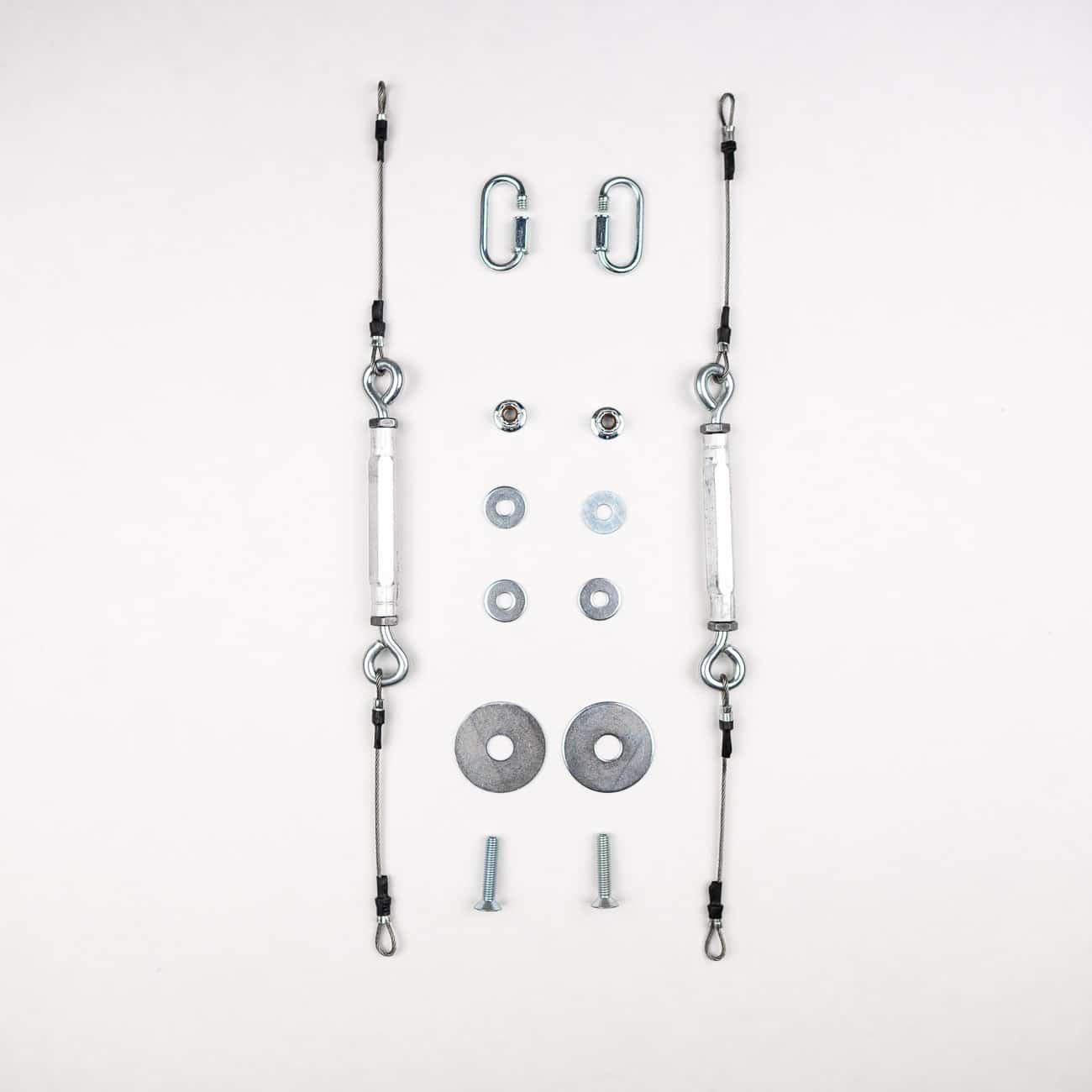 Adjustable Splitter Cable Rods