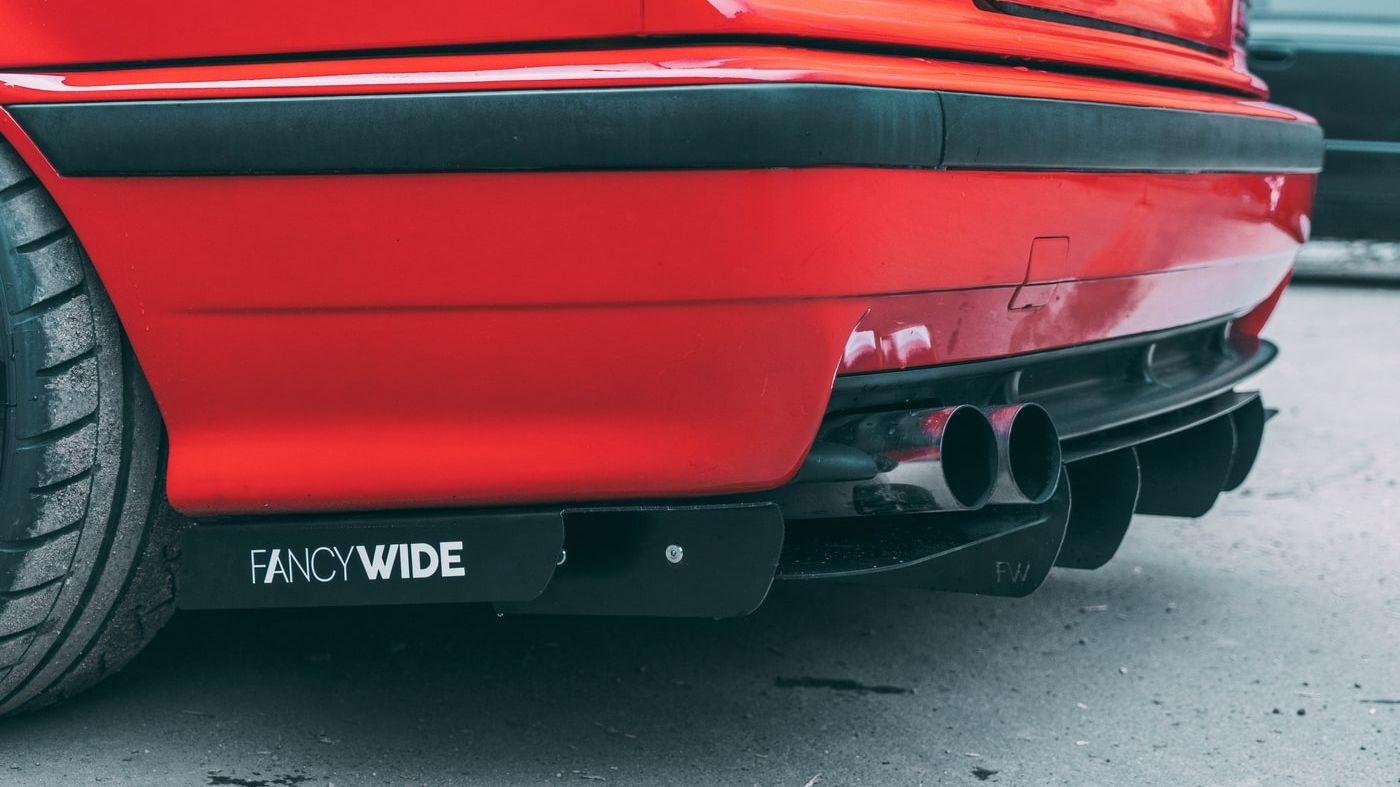 E36 M3 Diffuser V2 - FANCYWIDE