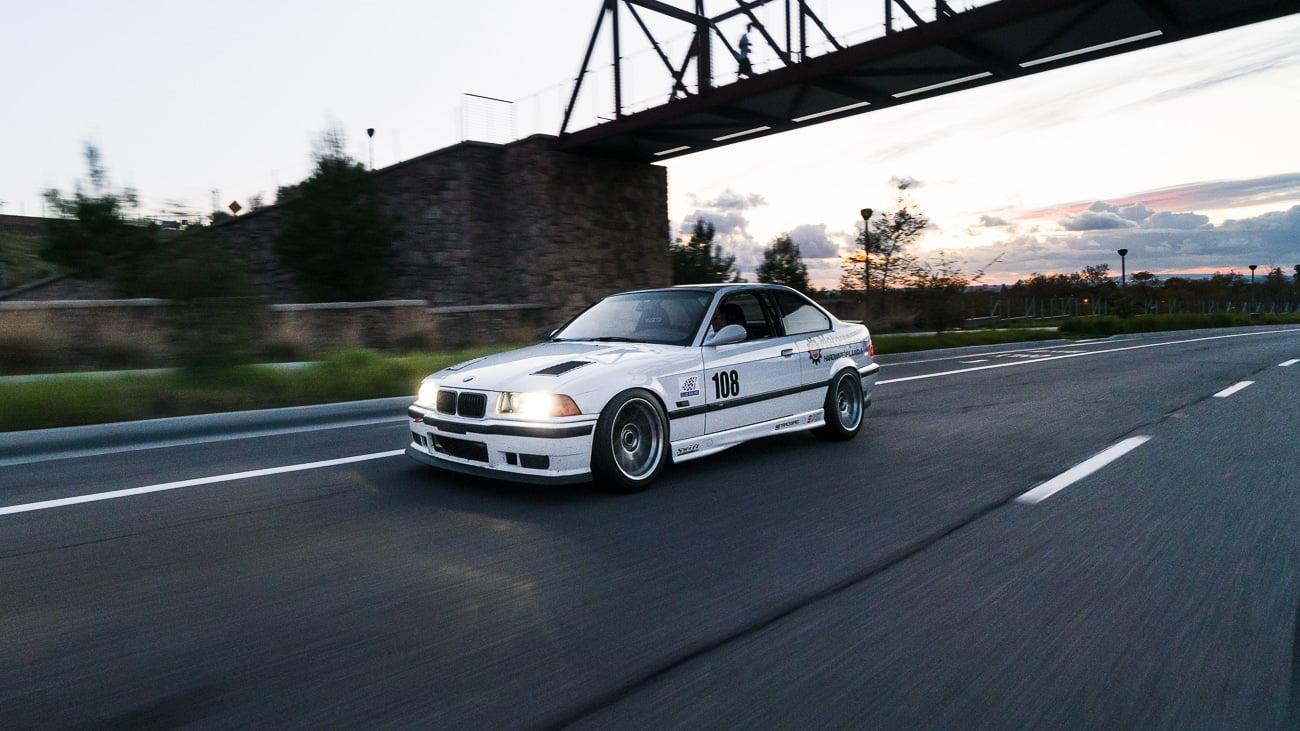 Trackspec Motorsports BMW E36 M3 Hood Vents