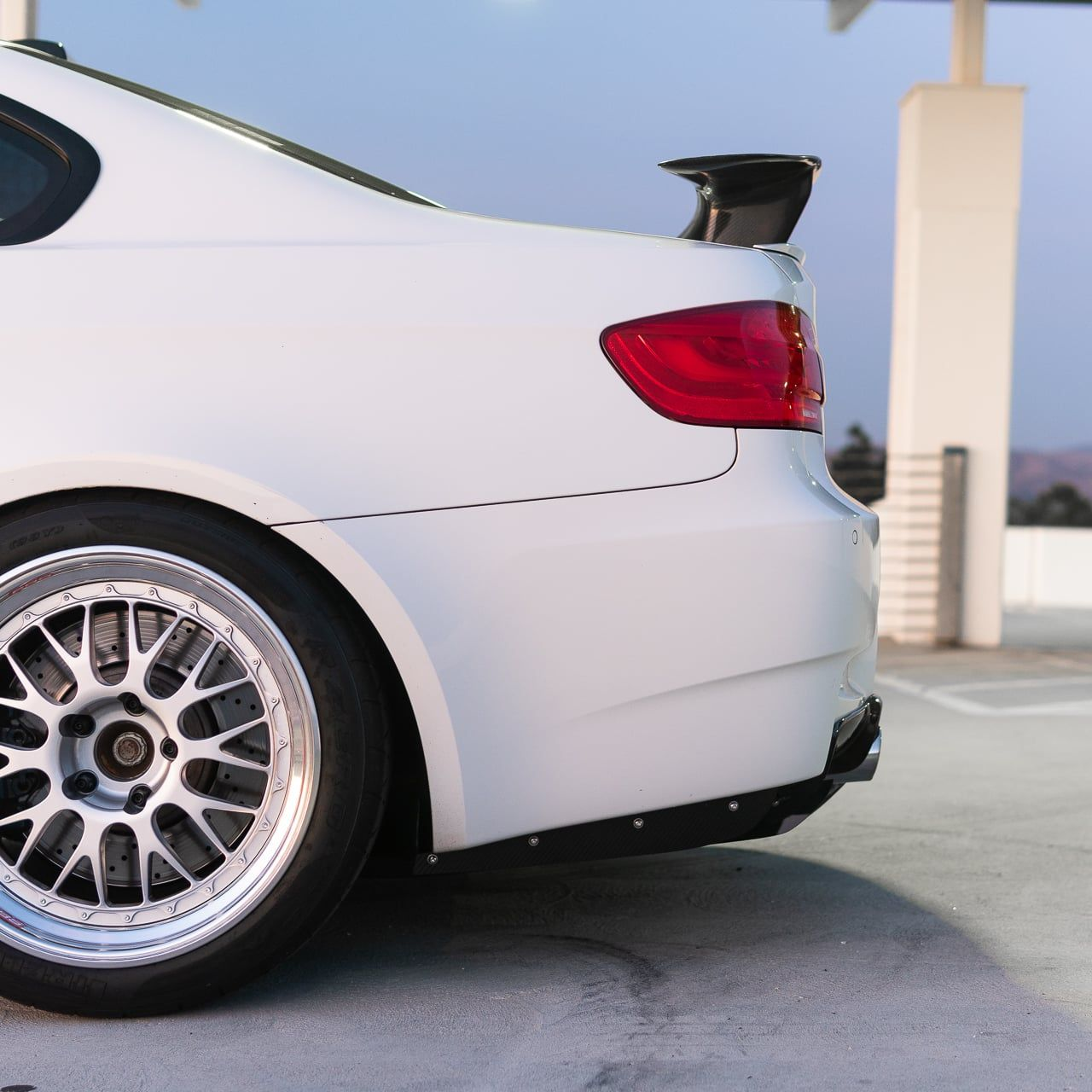 Varis Style Carbon Fiber Diffuser Undertray - E90 E92 E93 M3