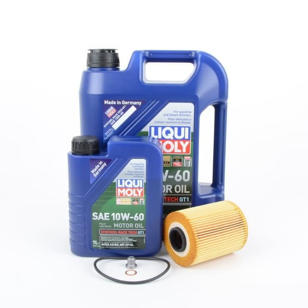 BMW E46 M3 S54 Engine Oil Change Kit - LIQUI MOLY