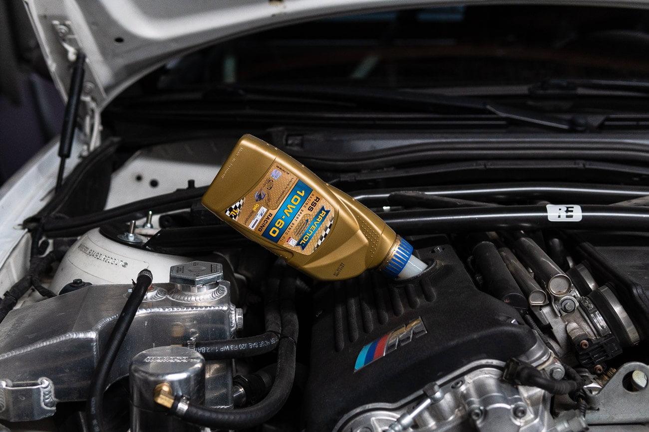 BMW E46 M3 Oil Change DIY