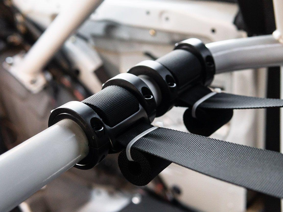 Race German Seat Belt Roll Cage Harness Collar