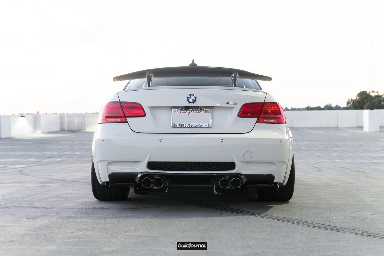 Buildjournal BMW E92 M3 with BBS E88 Wheels