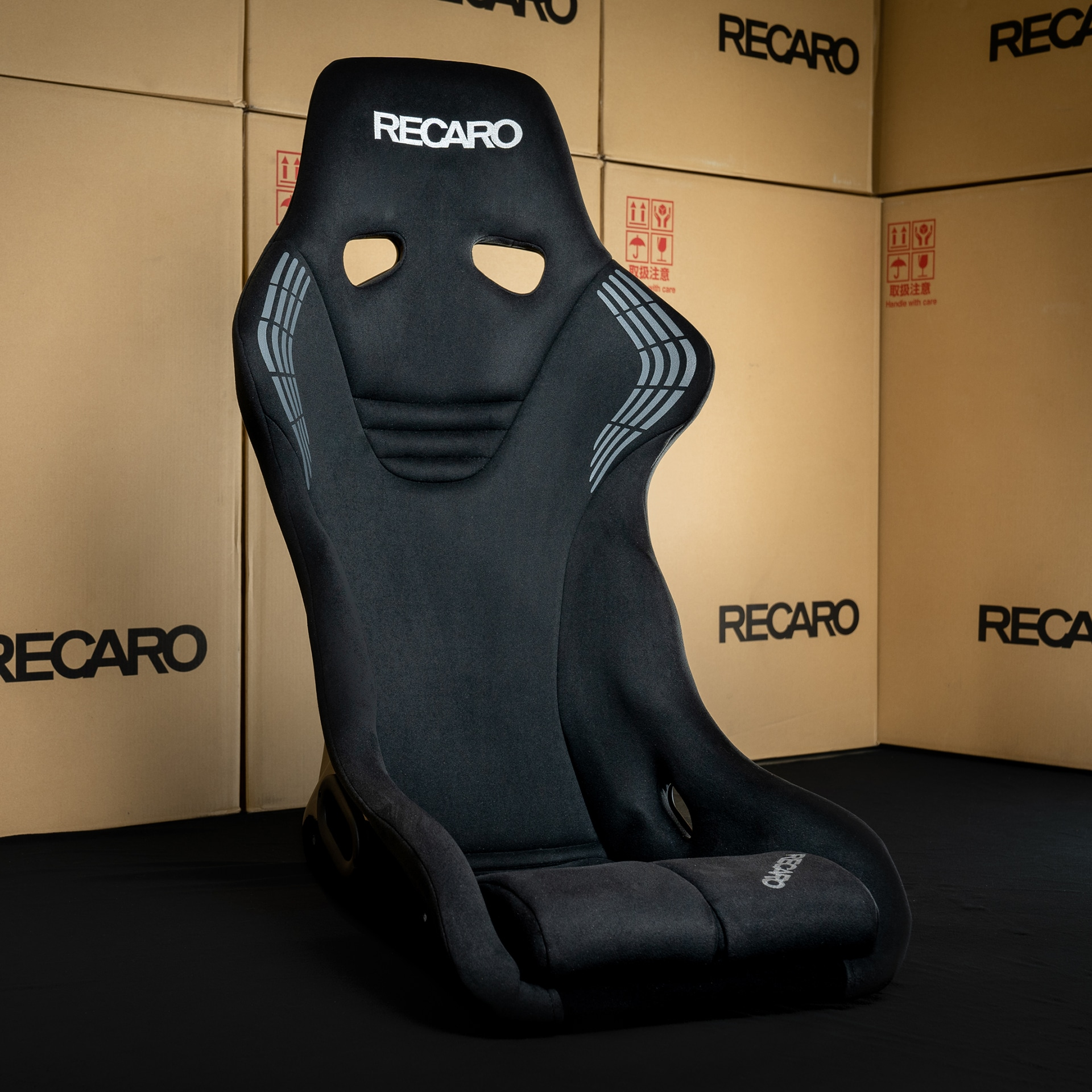 Recaro Bucket Seat RS-GS BLACK