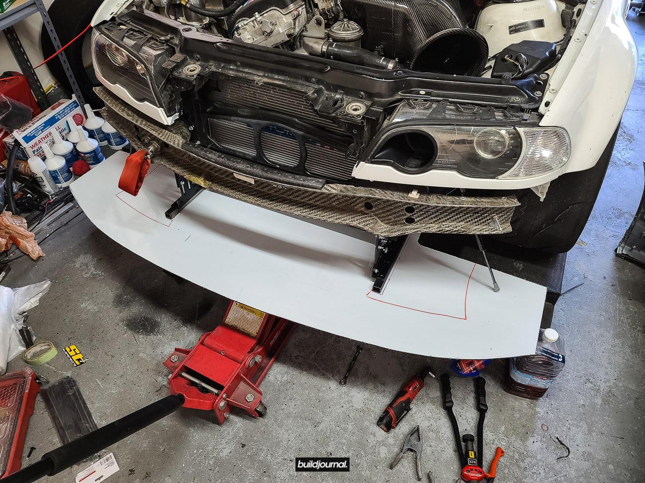 E46 M3 Splitter Install DIY