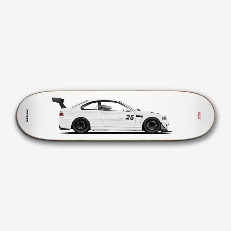 Garagewelt x Buildjournal E46 M3 Skate Deck