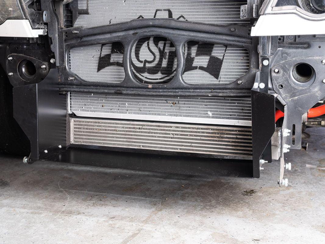 BMW E46 M3 Radiator Duct - Buildjournal