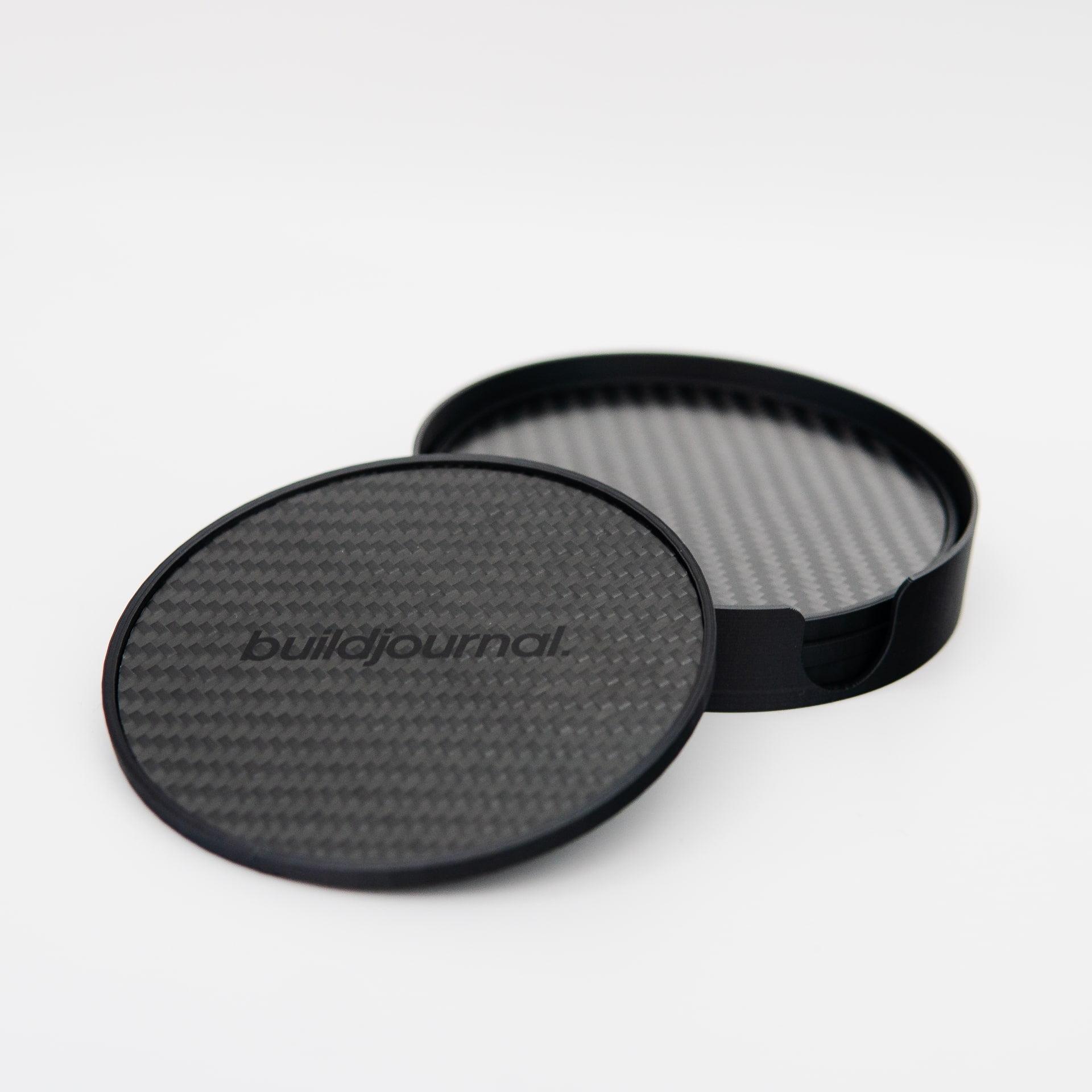 Carbon Fiber Coasters - Buildjournal